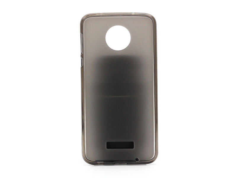 Lenovo Moto Z Play - etui na telefon FLEXmat Case - czarny