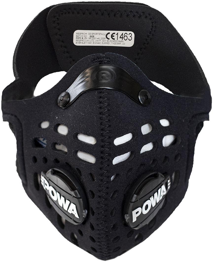 Maska antysmogowa Respro CE Sportsta Black (RCES19-BK)