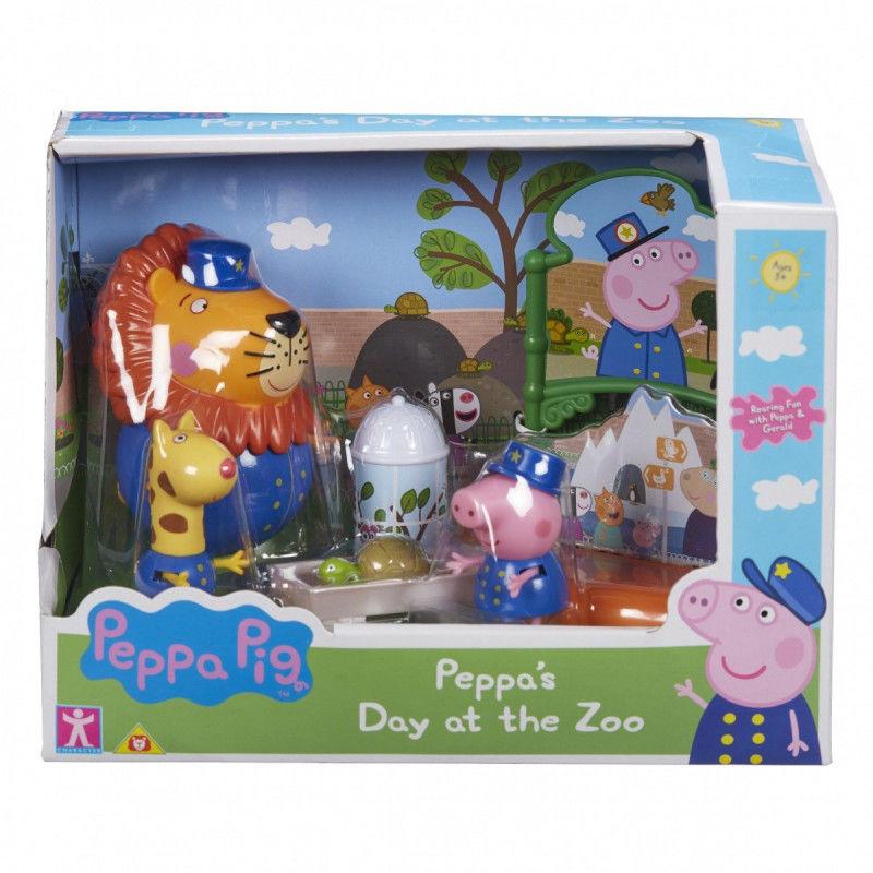 Figurki Peppa Zestaw zoo (GXP-742208)