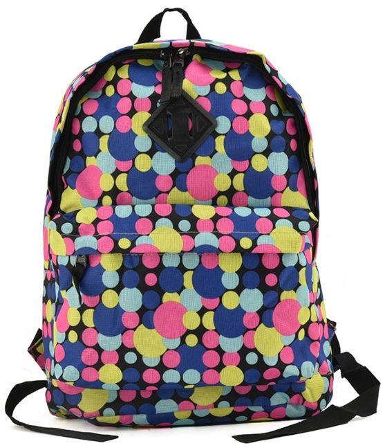 Sportowy plecak do szkoły Colorful Dots