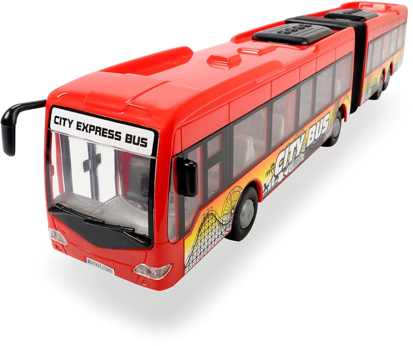 Dickie autobus City Express, 46 cm