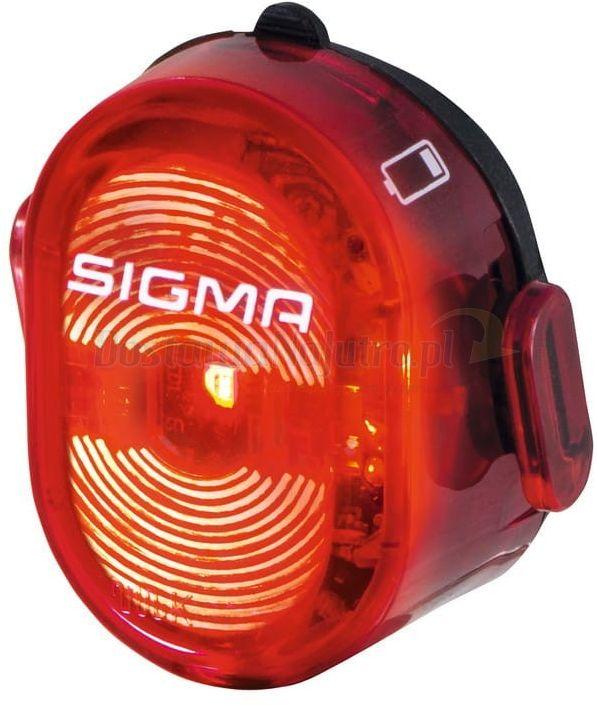 Sigma Nugget II lampka rowerowa światło tył LED
