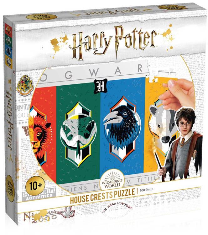 Gadżet Puzzle Harry Potter House Crests / Warszawa