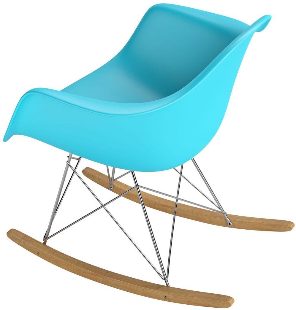 D2 Krzesło P018 RR PP ocean blue insp. RAR plozy