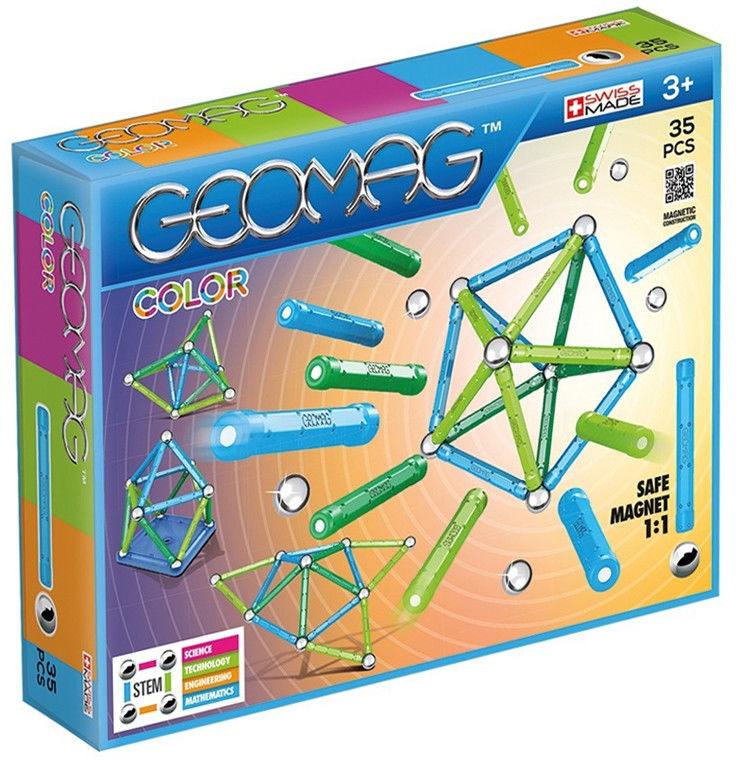 GeoMag - Klocki magnetyczne Color 35 el. 261