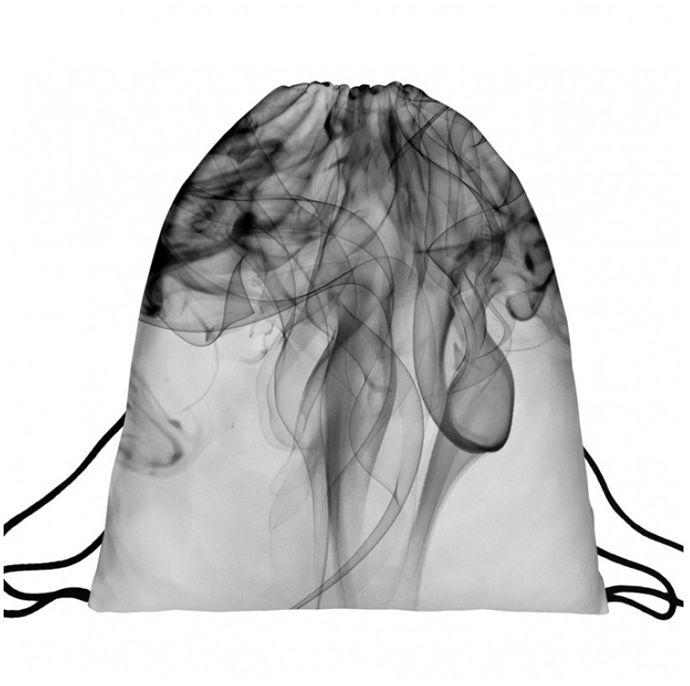 Worek plecak z nadrukiem Smoke A4