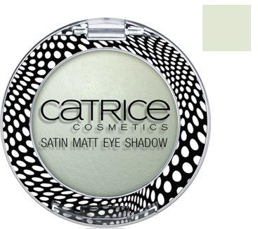 Catrice Cosmetics Satin Matt Eye Shadow Satynowy Matowy Cień do Powiek C02 Hide & Green - 1,8g Do każdego zamówienia upominek gratis.