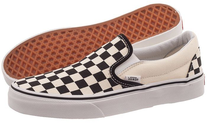 Buty Vans Classic Slip-On Black and White VN-0EYEBWW (VA6-c)