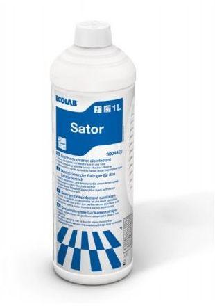 Sator ECOLAB - Usuwanie pleśni i osadów mydlanych w łazienkach