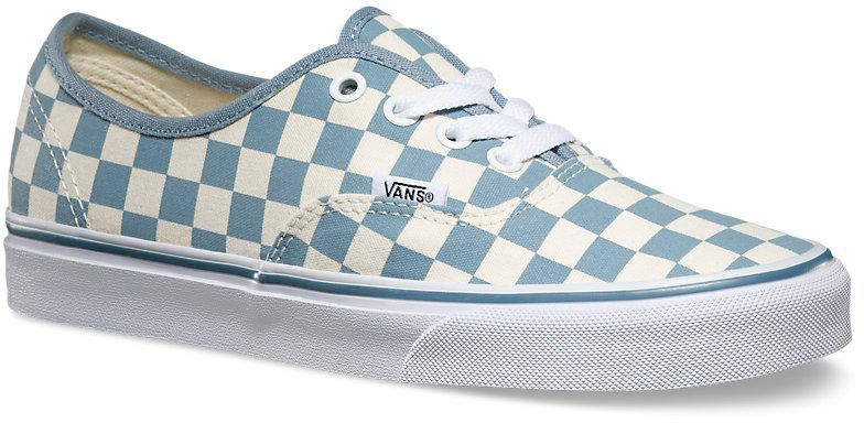 obuwie damskie VANS AUTHENTIC (Checkerboard) White/Citadel
