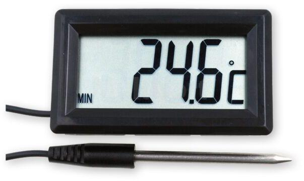 Panelowy termometr z czujnikiem zewn. od -50 C do 300 C