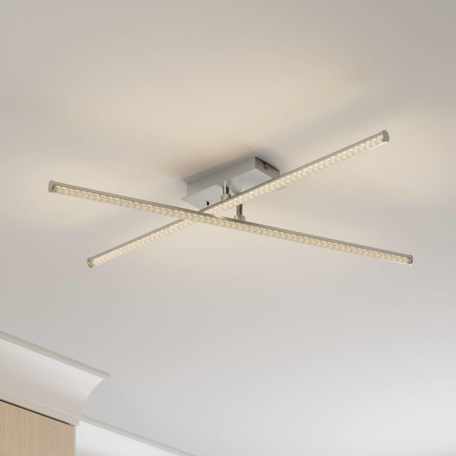Lindby Lansson lampa sufitowa LED RGB 2-punktowa