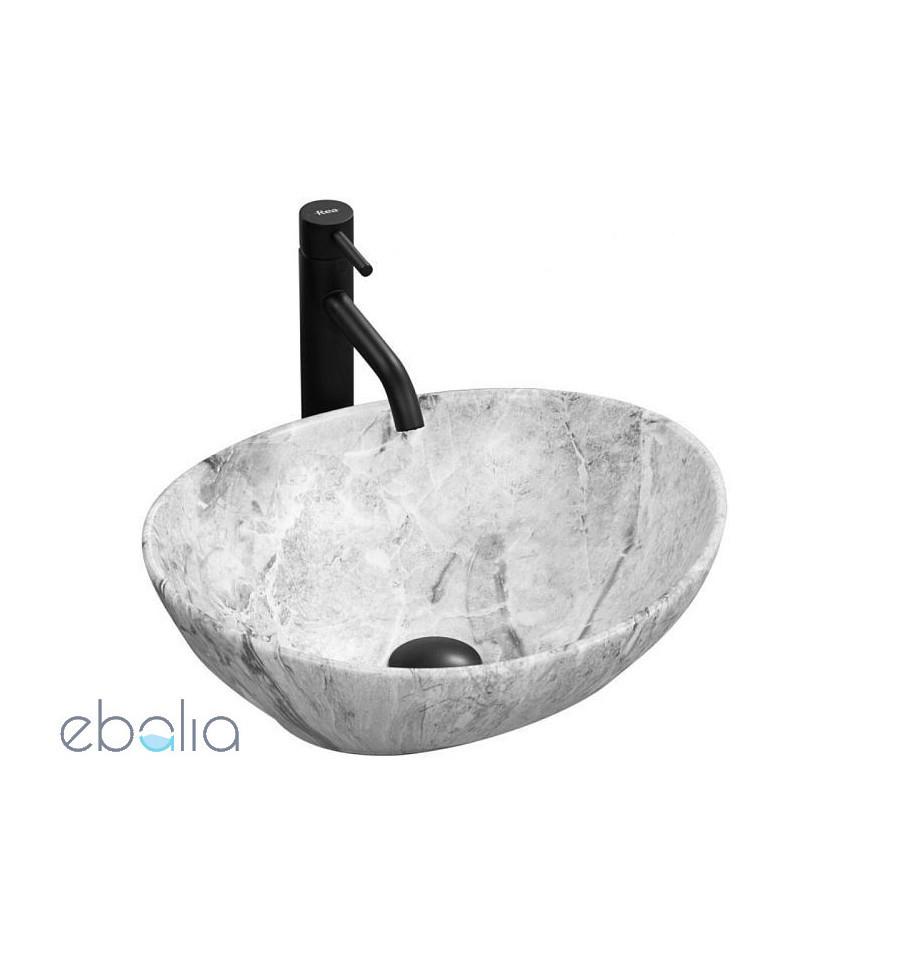 Umywalka nablatowa 40 Sofia Stone Rea (REA-U9908)