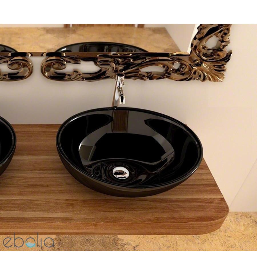 Umywalka nablatowa 40 Sofia Black Rea (REA-U0154)