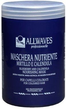 ALLWAVES Odżywcza maska do włosów z ekstraktem z jagody i nagietka 1000ml