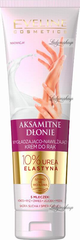 Eveline Cosmetics - AKSAMITNE DŁONIE - Wygładzająco-nawilżający krem do rąk - 100 ml