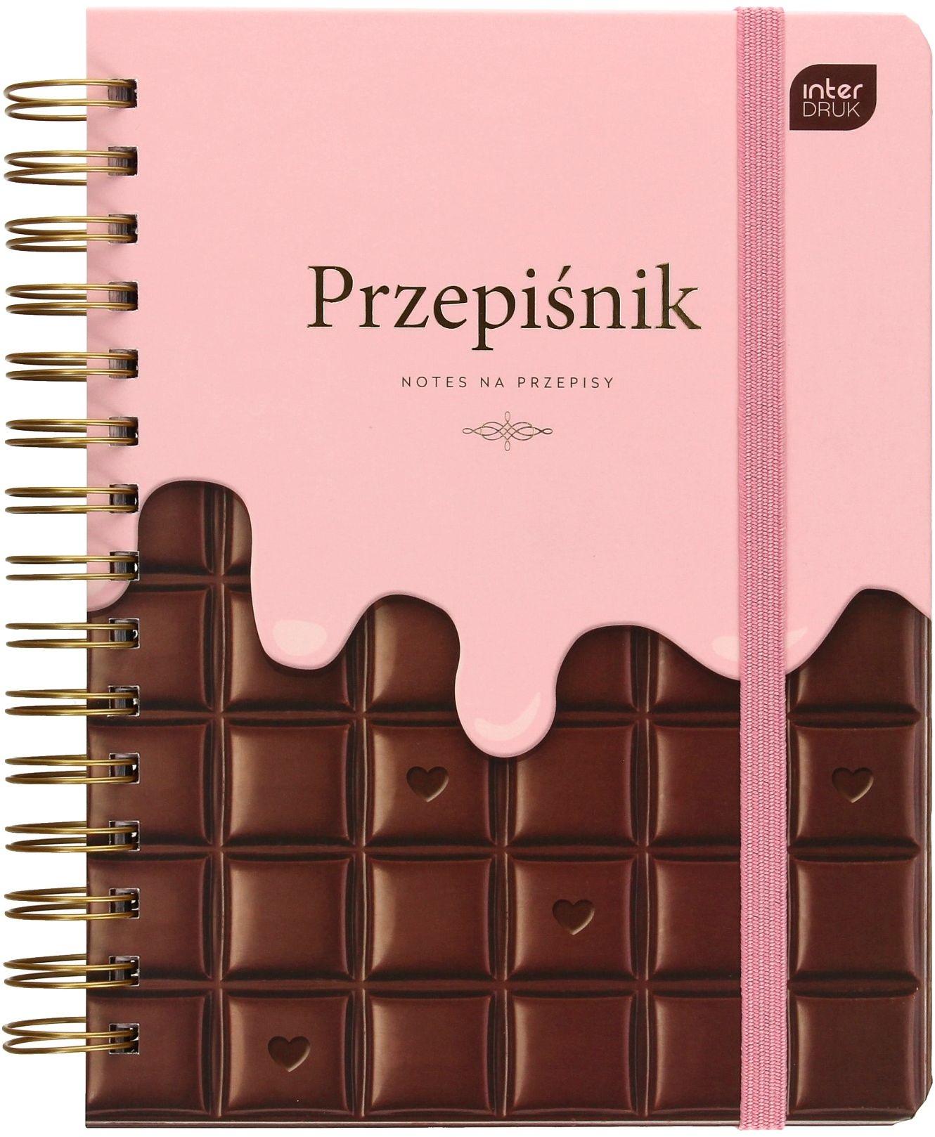 Przepiśnik Chocolate Interdruk