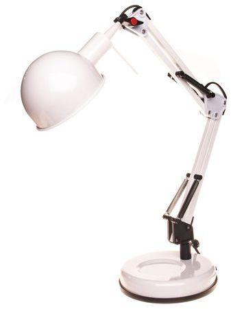 Lampka biurkowa PIXA KT-40-W biała 19300