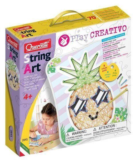 String Art Fancy - Kreatywna zabawa - Quercetti