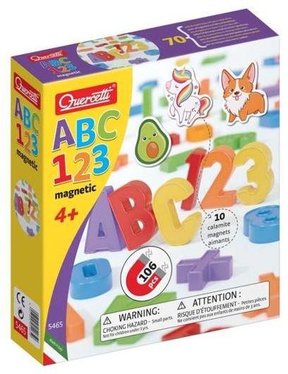 Magnetyczne ABC + 123 - Quercetti