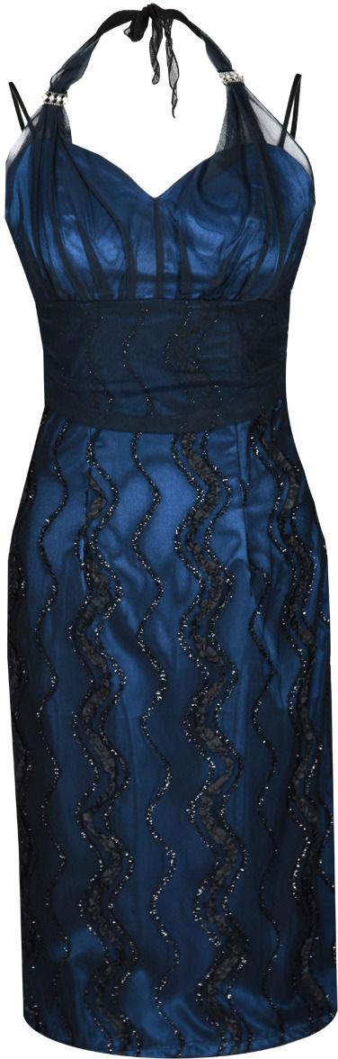 Sukienka FSU169 CZARNY + CHABROWY