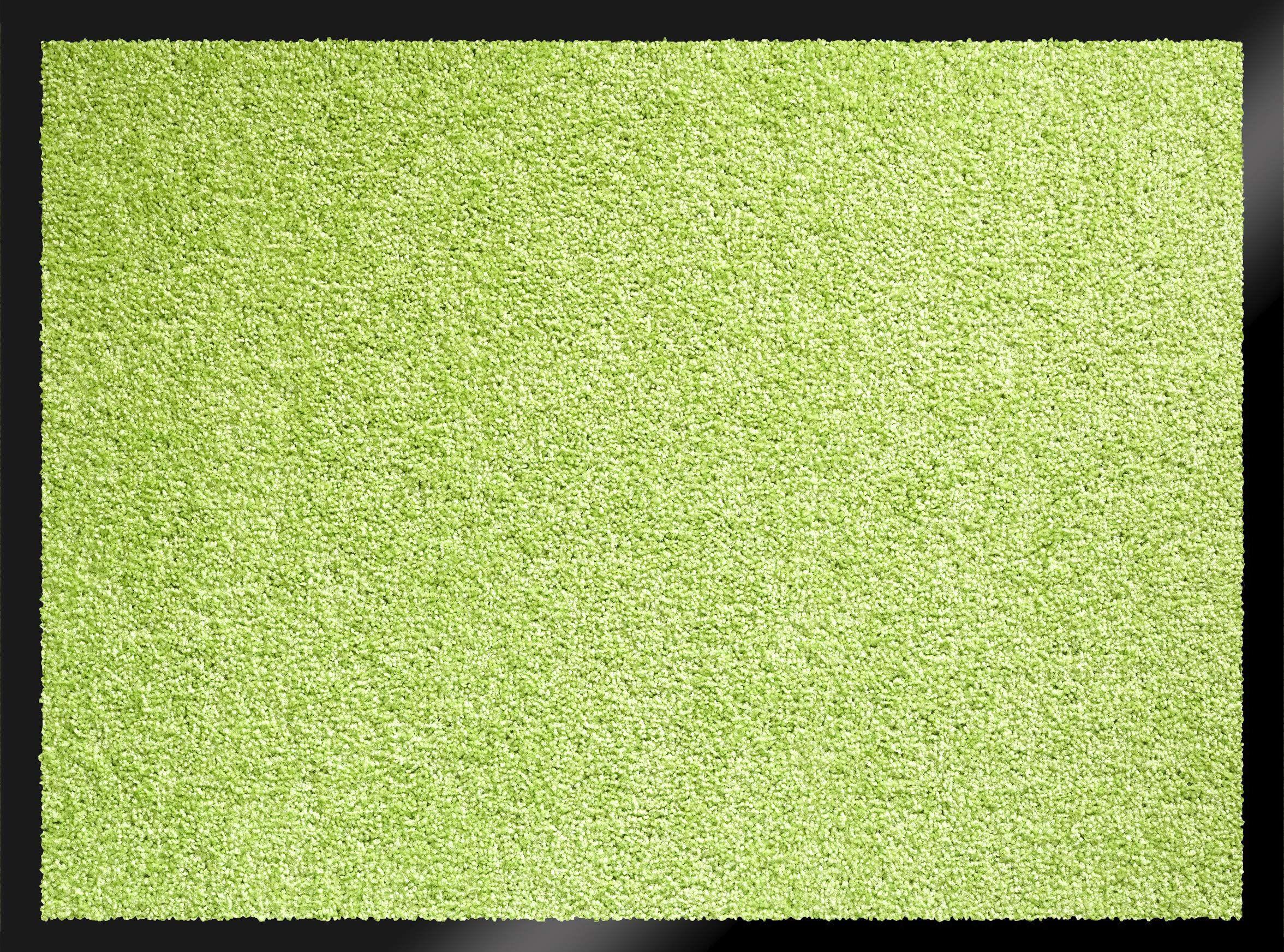 ID Matte 608005 Mirande wycieraczka włókno nylonowe/guma PCW 80 x 60 cm), zielona, 60 x 80 cm