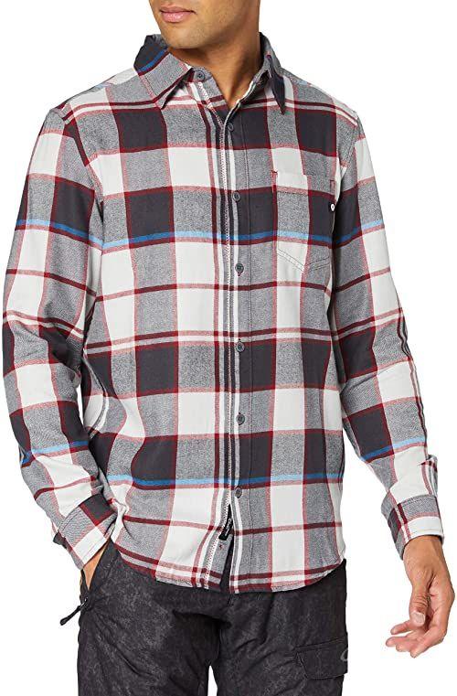 Marmot Koszulka męska Fairfax średniej wagi flanelowa z długim rękawem, platyna, S