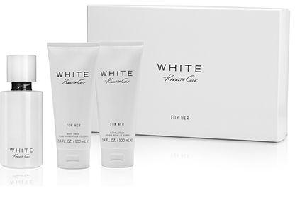 Kenneth Cole White for Her balsam do ciała 100ml + żel do kąpieli 100ml + woda perfumowana - 100ml Do każdego zamówienia upominek gratis.