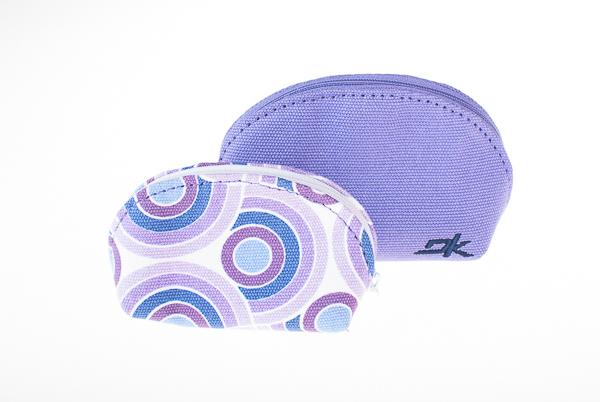 portfel damski DAKINE Puff bag violet