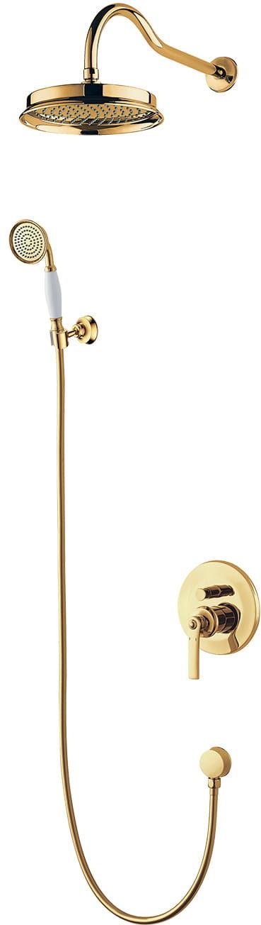 OMNIRES System podtynkowy kompletny Armance złoty SYS AM10 GL