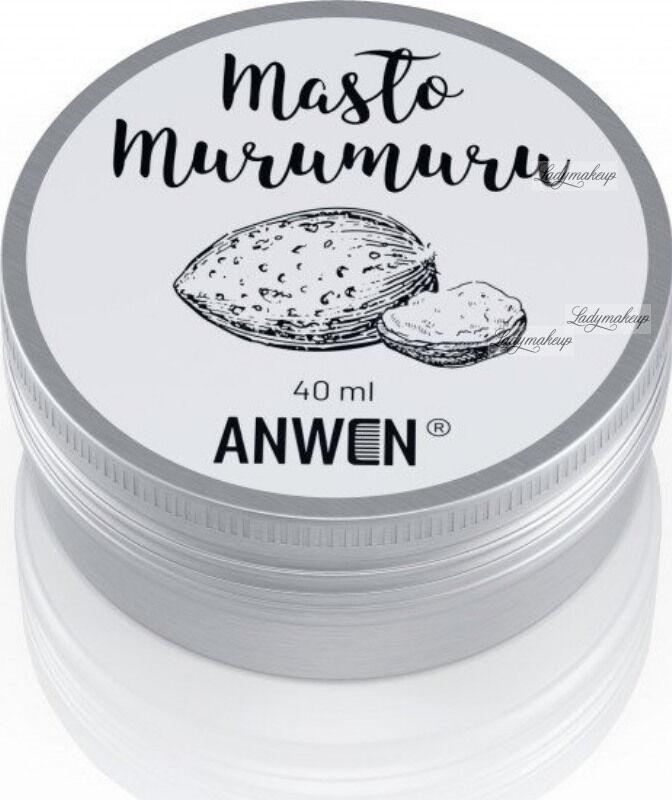 ANWEN - Masło Murumuru - Pielęgnacja włosów niskoporowatych - 40 ml