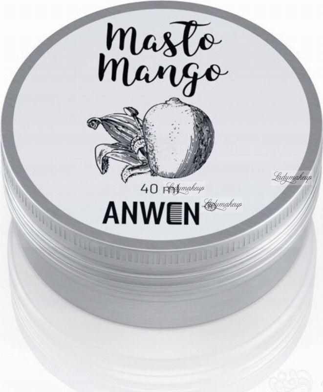 ANWEN - Masło Mango - Pielęgnacja włosów wysokoporowatych - 40 ml