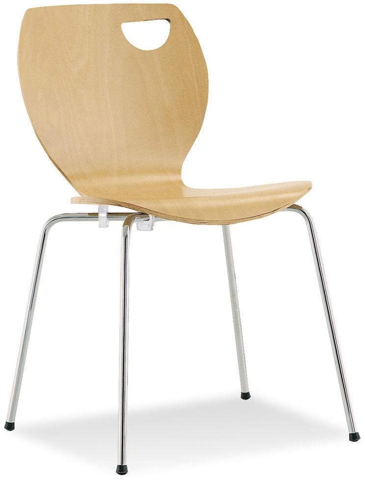 NOWY STYL Krzesło CAFE IV chrome