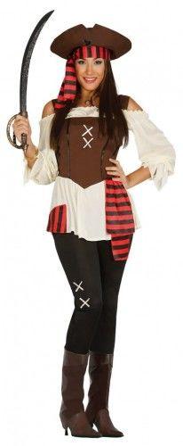 Kostium dla kobiety Piratka z Wyspy Skarbów
