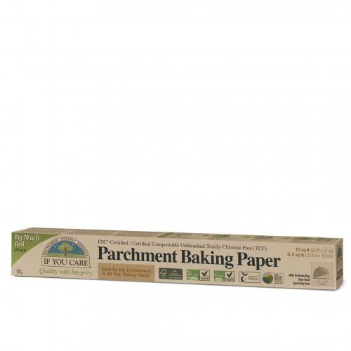Papier do pieczenia kompostowalny niebielony W ROLCE 10 m If You Care
