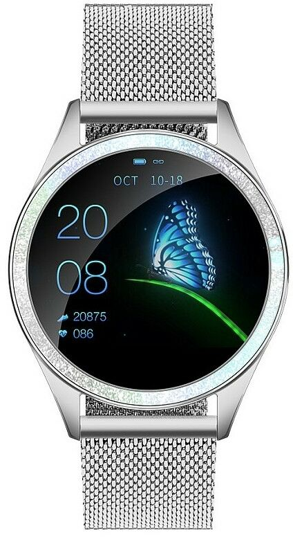 Smartwatch GINO ROSSI G.RSWBF2-3C1-2 - ZESTAW + czarny pasek
