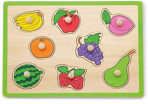 VIGA 50020 płaskie puzzle owoce