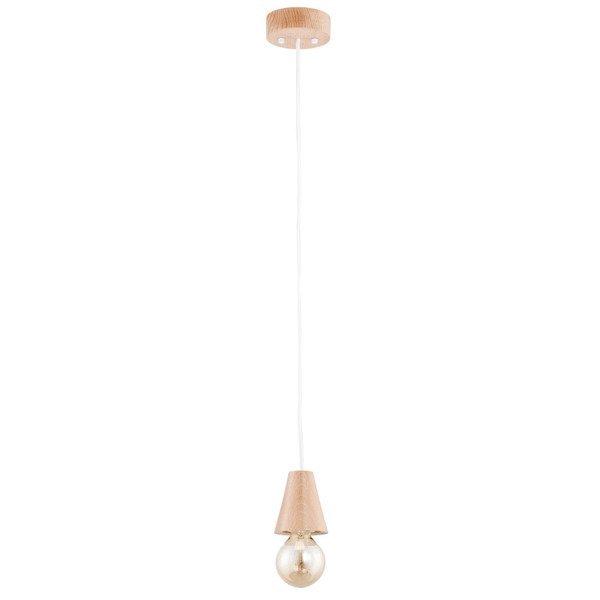 Drewniana lampa ARDEN drewno śr. 11cm