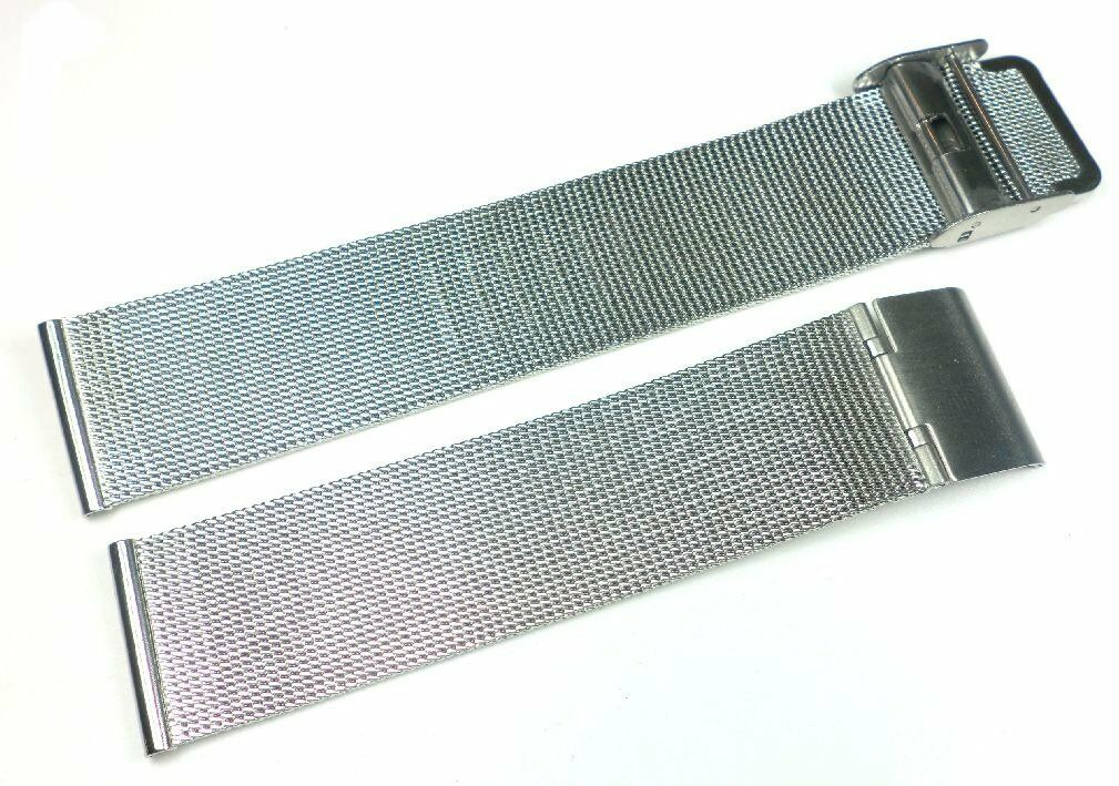 Bransoleta stalowa do zegarka Diloy MESH05-20-0 20 mm