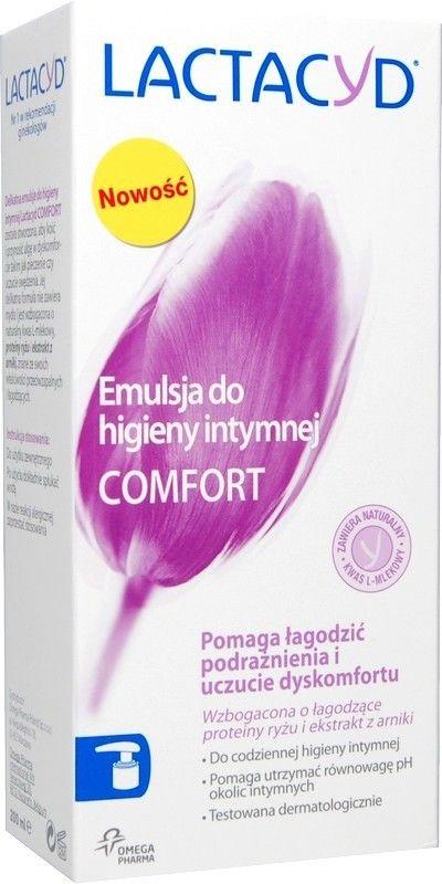 Lactacyd Comfort emulsja do higieny intymnej 200 ml + do każdego zamówienia upominek.