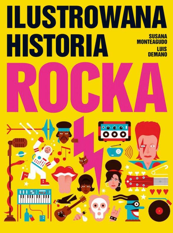 Ilustrowana historia rocka ZAKŁADKA DO KSIĄŻEK GRATIS DO KAŻDEGO ZAMÓWIENIA