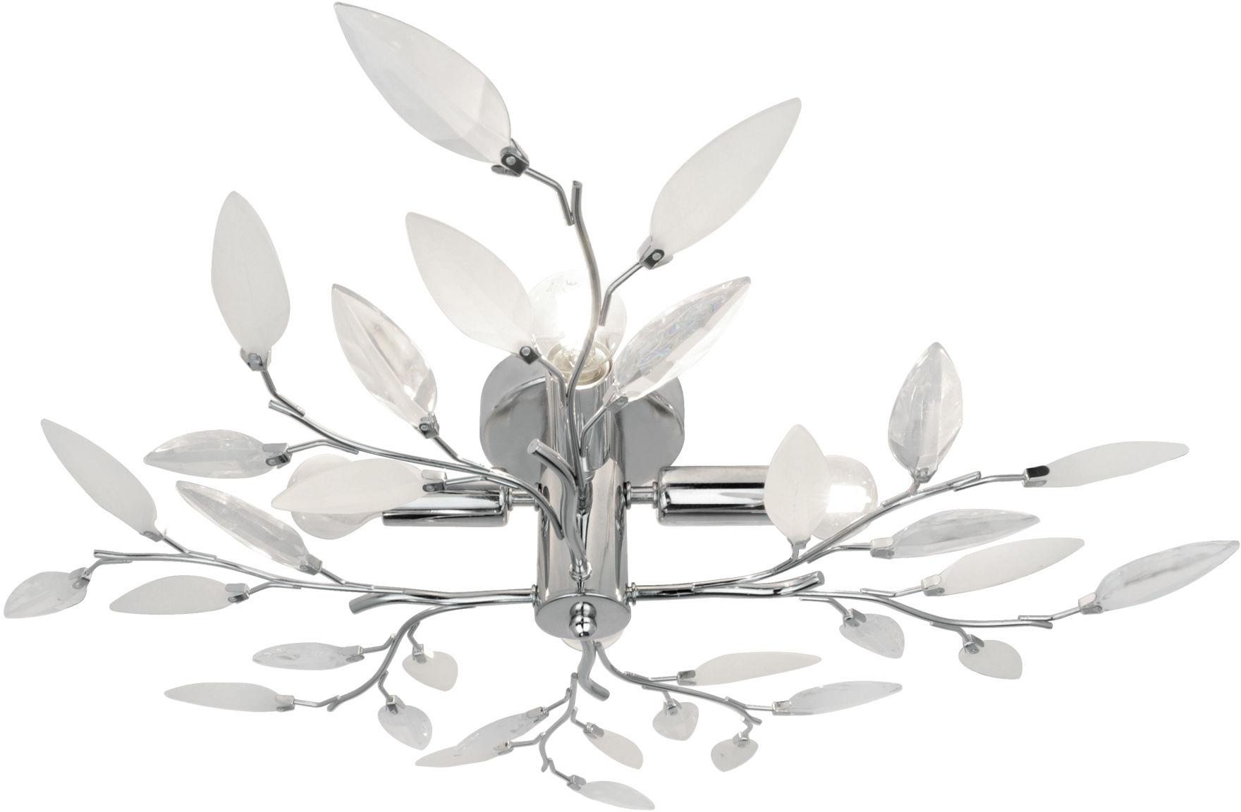 Zuma Line P749A LIA plafon lampa sufitowa chrom srebrny 4xE14 40W 61,5 cm