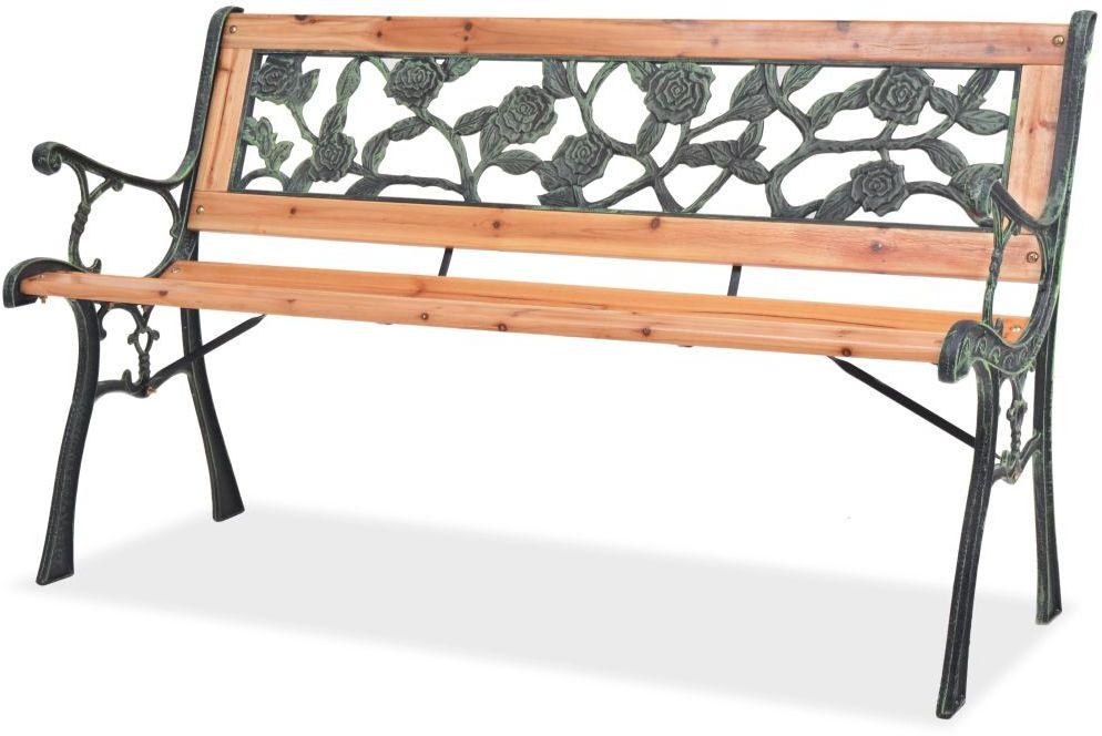 Drewniana ławka ogrodowa Rosa