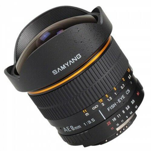 Samyang 8mm F3.5 Canon Fish-eye