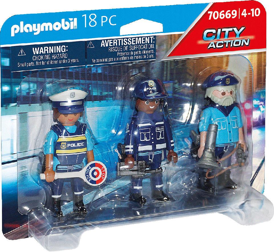 Playmobil - Zestaw figurek policjanci 70669