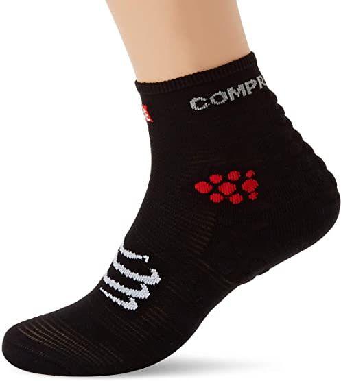 Compressport Racing Sock High Black T2 skarpety kompresyjne, męskie do biegania, czarne, 2