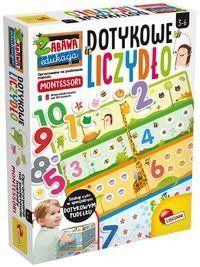 Montessori Plus Zabawa i edukacja Dotykowe liczydło - Lisciani