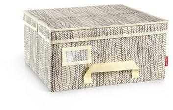 Tescoma Pudełko na odzież FANCY HOME 40 x 35 x 20 cm, naturalny