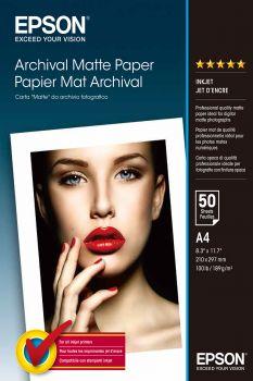 Papier EPSON Archival Matte Paper - A4, 189g/m2, 50 arkuszy (C13S041342)