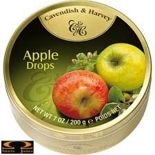 Landrynki cavendish & harvey jabłkowe 200g